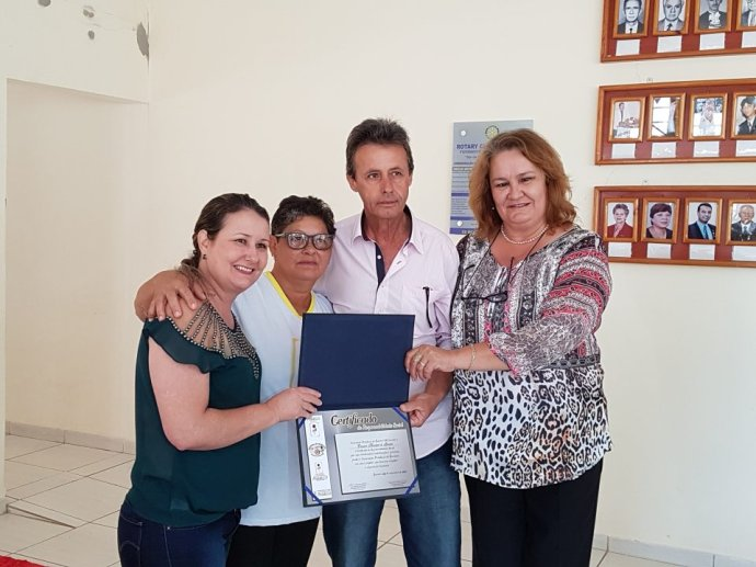 Câmara recebe Certificado de Responsabilidade Social da Pestalozzi de Ipameri
